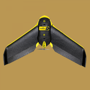 This SenseFly Ebee Drone is used for aerial mapping and survey applications